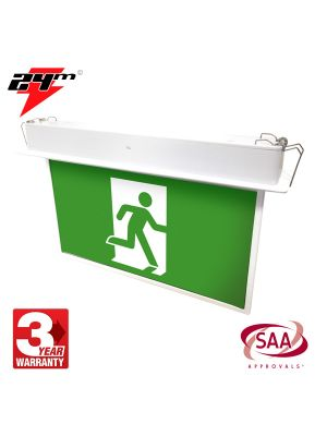 Recessed Blade LED Emergency Exit Light